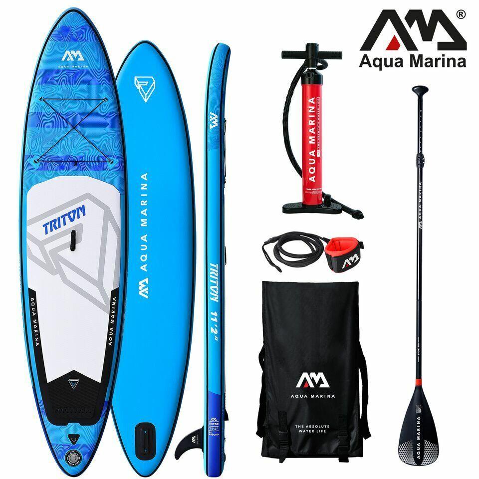 2019 Aqua Marina Triton 11'2'' Stand Up Paddle Board Inflata