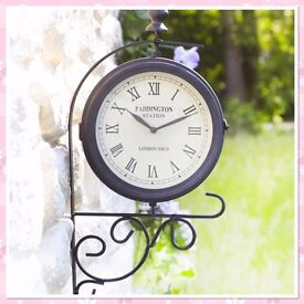 Indoor/Outdoor Clock