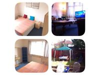 Double/twin room for a couple or 2 girls available next week - next to Jubilee line station