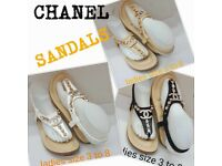 Ladies channel sandals 3-8