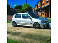 Renault Clio sport 172 down a 1.2 on log book!