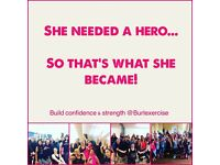 Burlexercise Classes - Find your inner diva and get fit at the same time!! Monday evenings 6-7