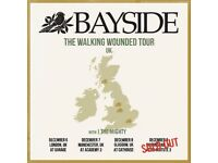 2x Bayside (Walking Wounded Tour) Tickets (Sold Out : Birmingham)