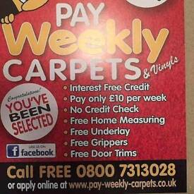 PAY WEEKLY CARPETS/VINYLS