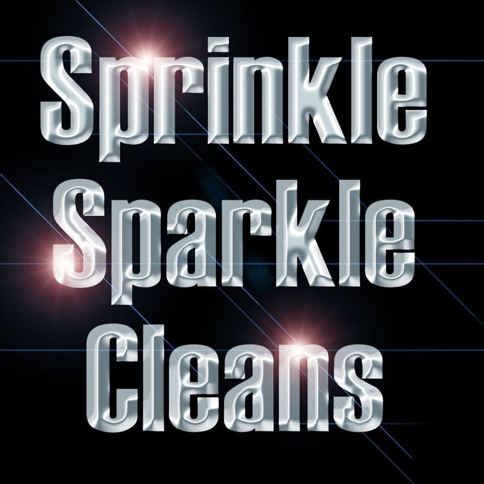 Sprinkle, Sparkle Cleans