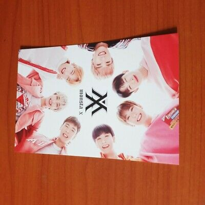 K-POP MONSTA X TONYMORY OFFICIAL LIMITED Monsta X PHOTOCARD