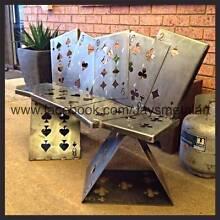 Poker - Card  Bench Seat - Metal Art & Design Geelong Lara Outer Geelong Preview