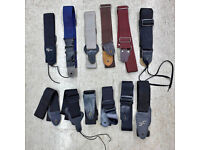 Guitar Straps x2 for acoustic/electric guitars plus other accessories