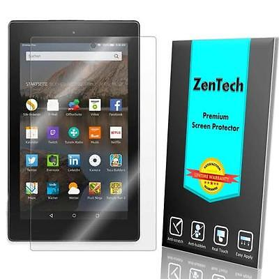 2X ZenTech® Clear Screen Protector Guard For Amazon Fire HD 8 (7th Gen, 2017)