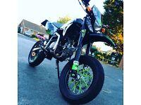 Road legal pit bike 140cc reg as a 125! 800 takes it
