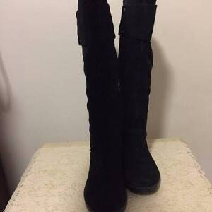 Ninewest black suede boots FREE Genuine Jeffrey Campbell Litas Hornsby Hornsby Area Preview
