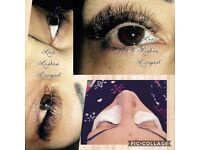 Semi Permanent Lashes, Classic, Russian, Lash Lift, HI Brows.