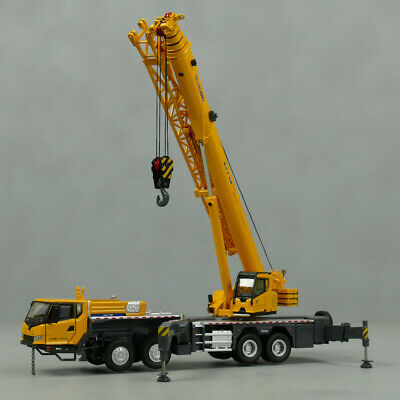 1:50 XCMG XCT75 Truck Crane Model,Gift,Collection two cab open 75 tons freeship