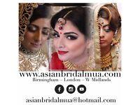 Asian Bridal Makeup & Hair Artist / MUA for guest & Bridesmaids - Makeup Artist covering London