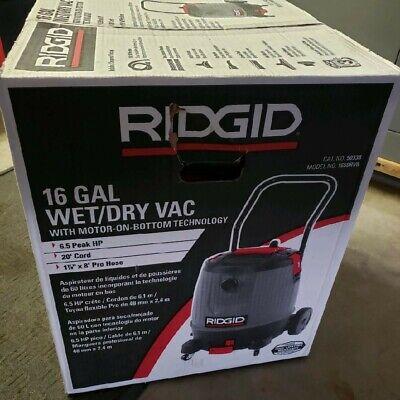Ridgid Vacuum 50338 16 Gallon Wetdry