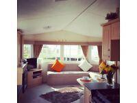 8 berth deluxe caravan for rent in Trecco bay Porthcawl