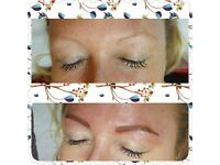 Semi Permanent hairstroke or powder tattoo brows (payment plan)