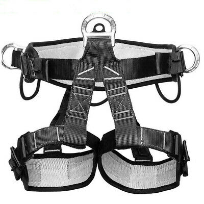 Half Body Safety Belt Tree Climbing Saddle Climbing Aerial Work Harness Us Stock