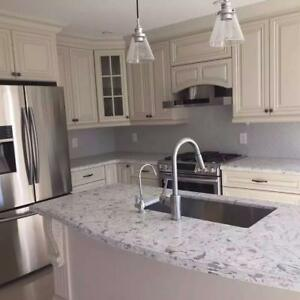 Kitchen countertop starts from $40/sqft on popular granite or quartz colors