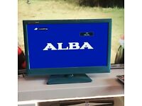 Blue 22'' LCD tv/dvd freeview combi