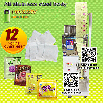 110v220v Vertical Form Fill Seal Machine Powderpouchpacking Machine Teacandy