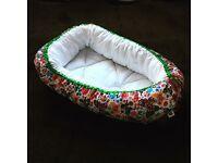 Baby nest pod, handmade NEW! Has the same features as sleepyhead