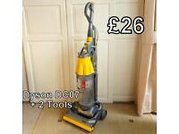 Dyson DC07 Vacuum Cleaner + 2 Tools