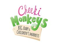 Cheeki Monkeys Baby and Children's Market Sale Moggerhanger