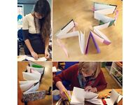 Brand New Bookbinding Course with Cass at Stampers Grove Wednesday afternoons throughout April