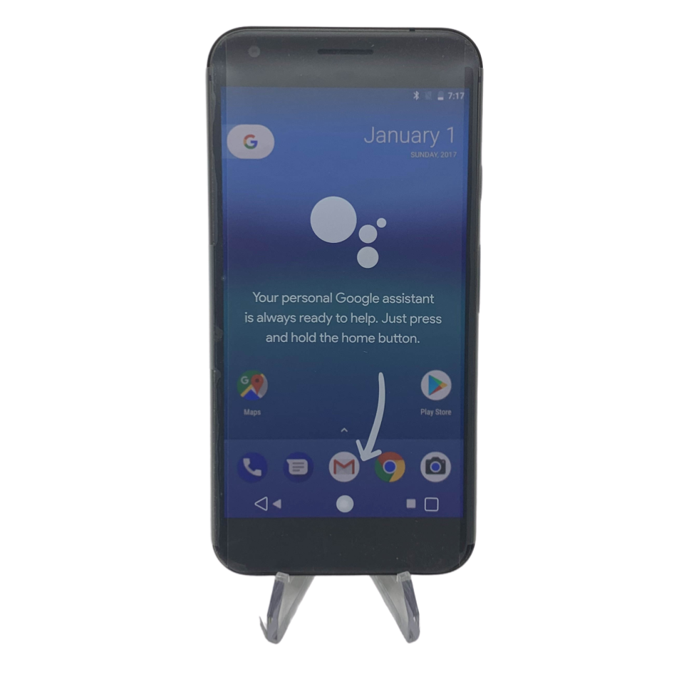 Android Phone - Google Pixel XL - 32GB - Quite Black - Fully Unlocked - Smartphone
