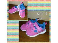Girls shoes sizes 4-5