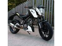 KTM Duke Black and White ***stolen***