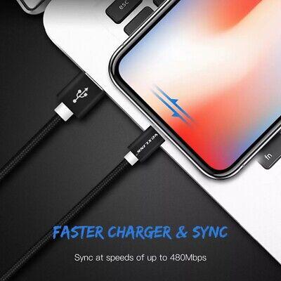 Cable 2M USB Lighting Nylon - Aluminio Compatible con todos los productos...