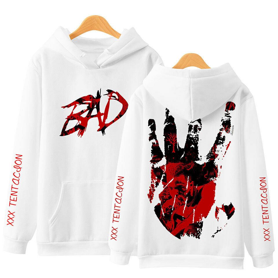 Revenge XXXTentacion Bad Vibe Hip Hop Forever Hoodie Sweater Sweatshirt Pullover Activewear