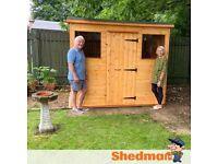 Garden Shed Pent