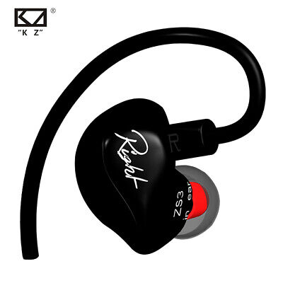 In Ear Wired Headphone Stereo Surround Sound Heavy Bass Headset Ear Hook (Earbud Surround Sound Headphones)