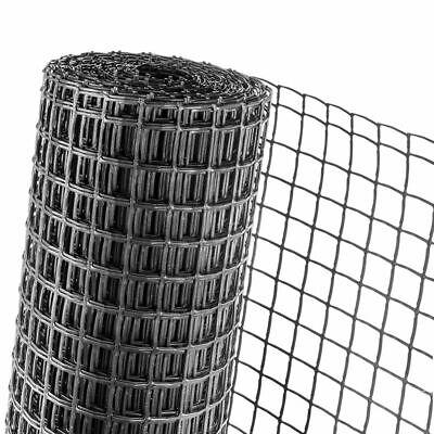 Fence Fence Plastic Fence Lattice Fence Anthracite Haga 30m L X 0,5m Height