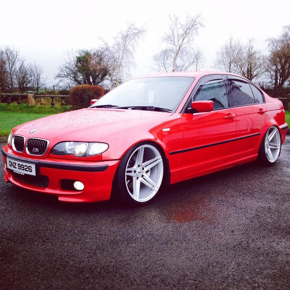 2004 Bmw E46 330d M Sport Imola Red In Strabane County