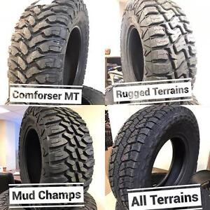 TIRES, Wheels, LED Kits, Tonneau Covers, Fender Flares !! BLOWOUT SALE!!! We Install !!