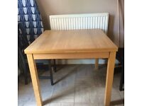 EXTENDABLE DINING TABLE FROM IKEA