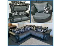 FLAT 49% SALE OFFER FARROW SHANNON DESIGN CORNER /3+2 SEATER SOFA SET AVAILABLE