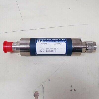 Used Telonic Berkeley Tlc 1000-5ef1 - Filter