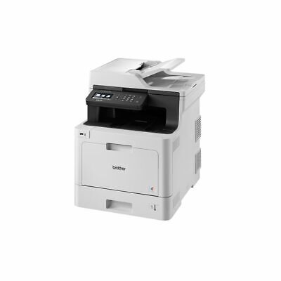 Brother Laser 3-in-1 Printer DCPL8410CDWZ USB2.0 Ethernet WiFi Touchscreen 512MB
