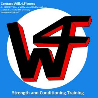 W4F:Strength &Conditioning Training Greenway Tuggeranong Preview