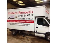 Loughborough based Removal's, Man and Van service.