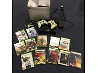 XBOX 360 Games Console Black 250MB & 12 Game Bundle