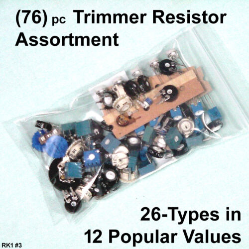 (76) pc TRIMMER POT Assortment < Popular VALUES in Many STYLES >
