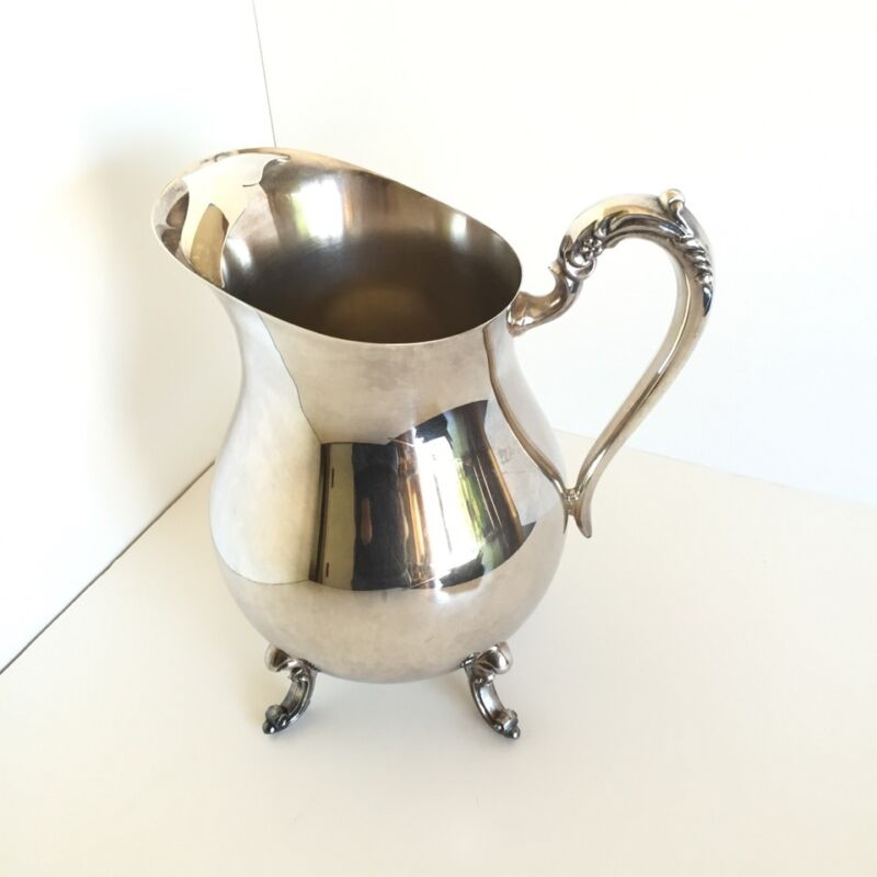 F.B. ROGERS Silver Plated Water / Beverage Pitcher
