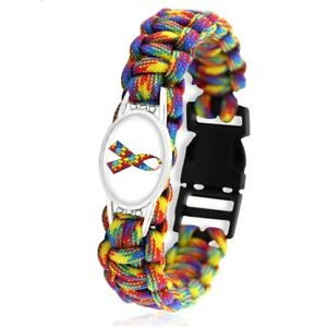 Lovely Friendship Autism Awareness Paracord bracelet. In Organza Gift bag....,,