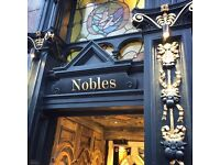 Junior Sous, Nobles, Leith Shore, competitive pay